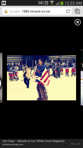 Jim Craig looking for his parents.